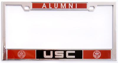USC License plate frame