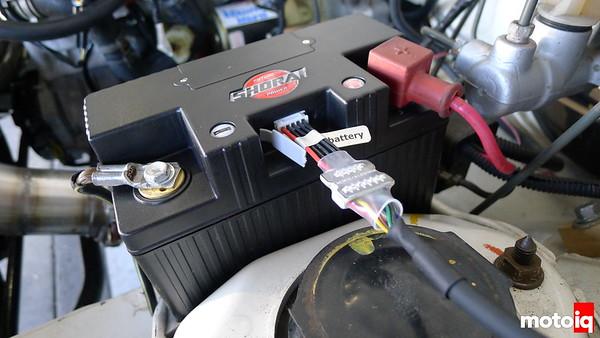 Project Miatabusa Shorai Lithium Iron LiFePo4 battery