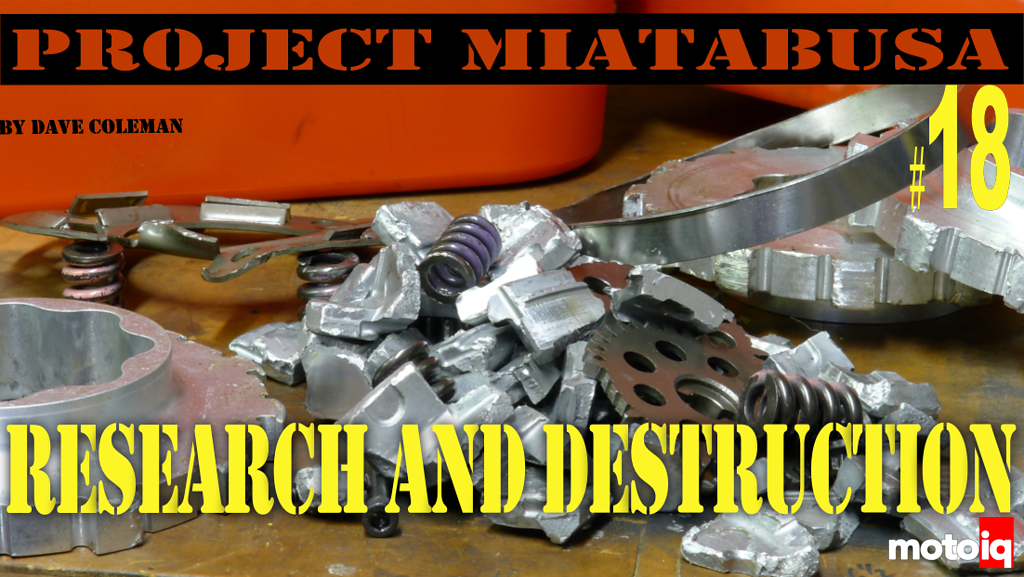 Project Miatabusa part 18, Research and Destruction