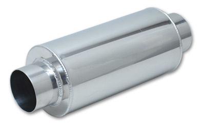 Vibrant aluminum muffler