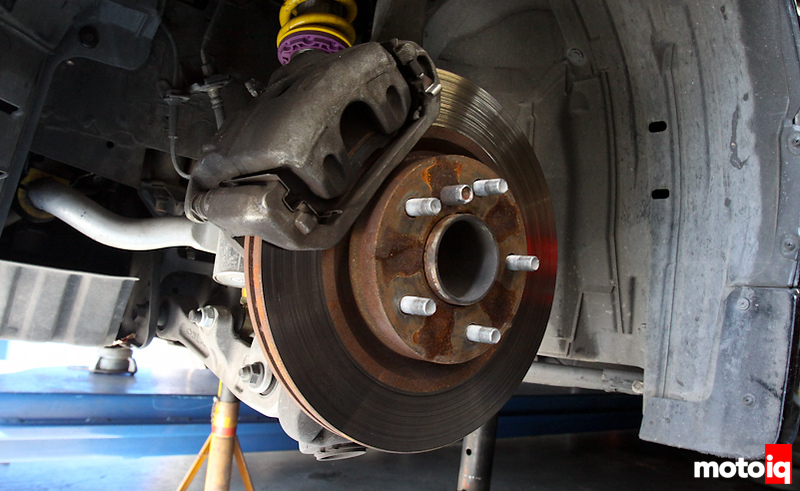 Project 350Z- Improving the Brakes with Stoptech