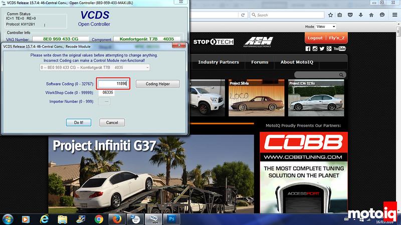 Project Audi A4 Quattro: Part 2 - VAG-COM Fixes, Cam Follower and