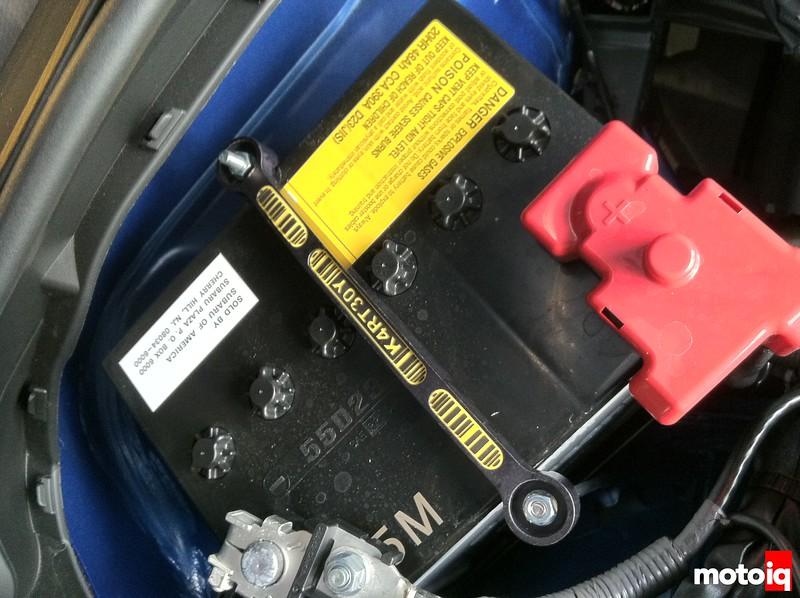 Kartboy battery hold down Subaru BRZ Scion FR-S