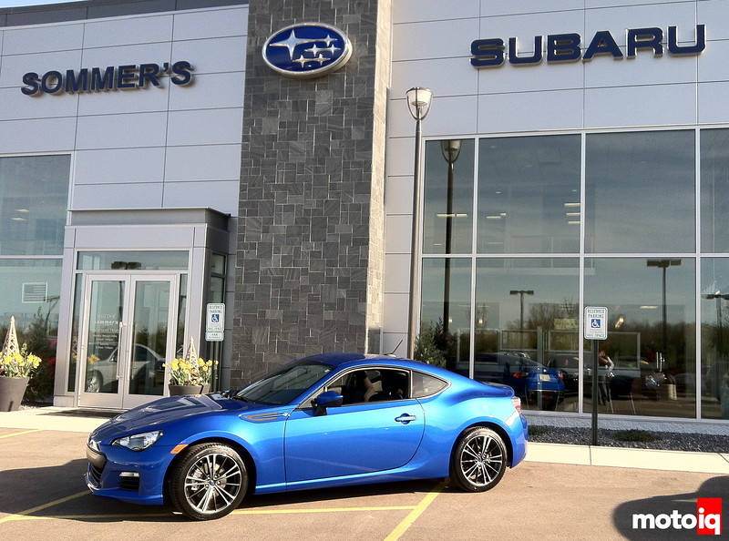 Project Autocross BRZ Sommers Subaru WRB World Rally Blue