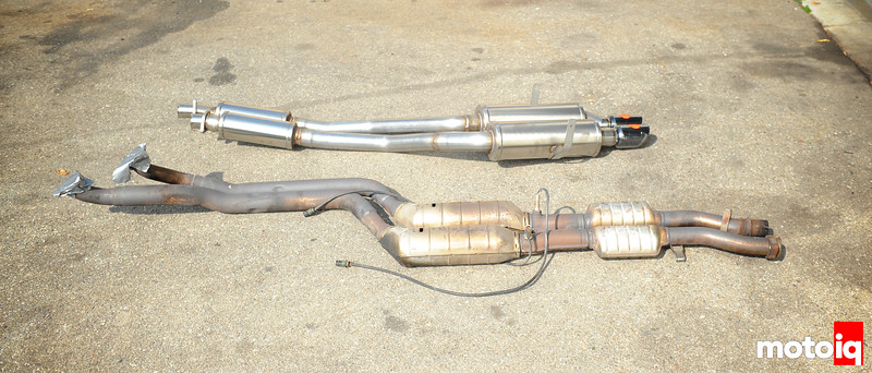 E36 Corsa exhaust and M3 center section