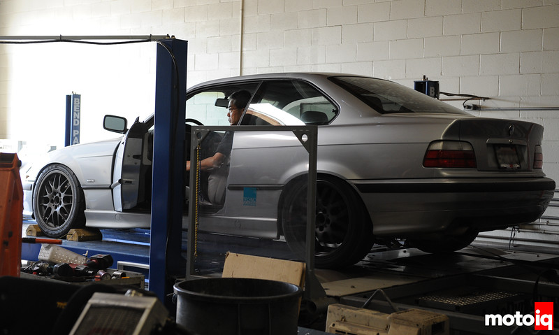 BMW ratings: HP = 168 Tq = 181<br /> On the dyno, stock HP = 141.1 Tq = 142.9<br /> After the exhaust, HP = 146.8 Tq = 149.5<br /> Not giant gains but it's a start since this is the first power addition we've made.