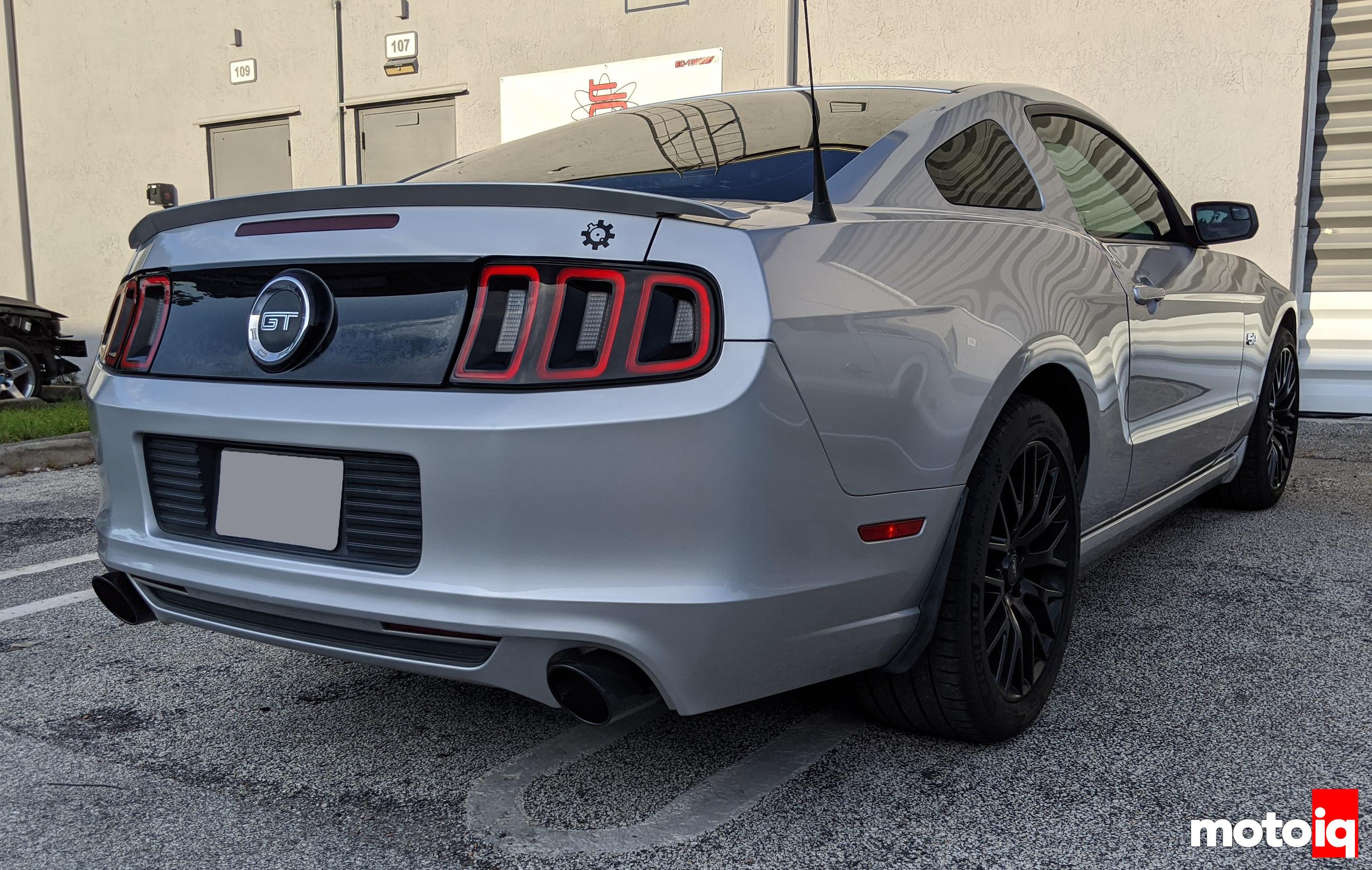 2014 Mustang GT Borla S-Type Catback exhaust