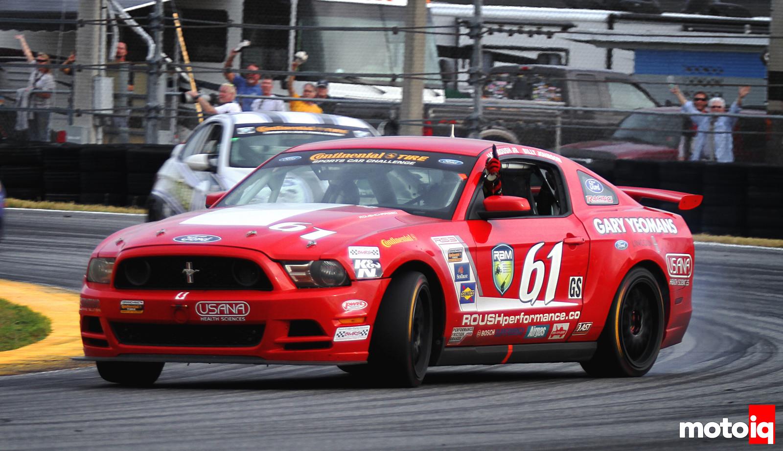 Billy Johnson Roush Performance Jack Roush Jr Daytona Victory Drift