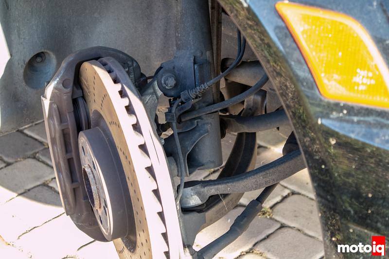 C63 AMG front suspension
