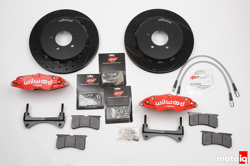 Wilwood Civic SI Front brake kit