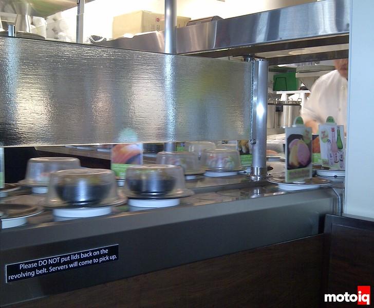 Sushi on Conveyorbelt