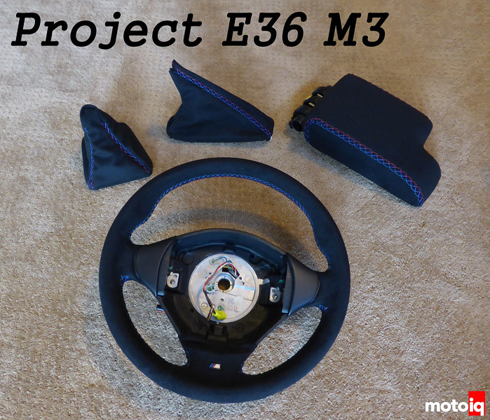 Project E36 M3 Pt 4 Ultrasuede Cover