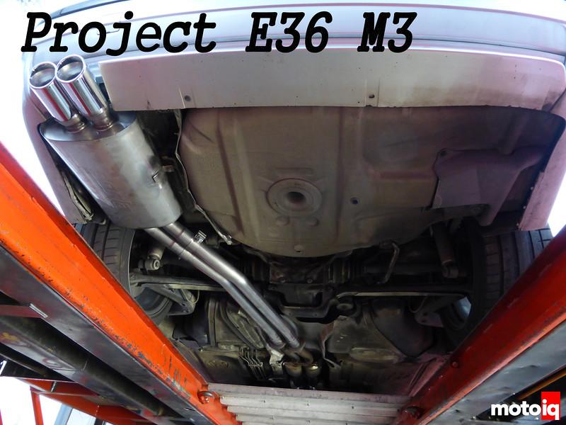 Project E36 M3: Part 3 - Borla Exhaust