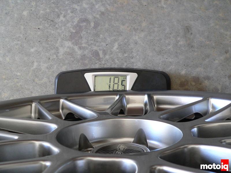 APEX Arc-8 18x9 weight