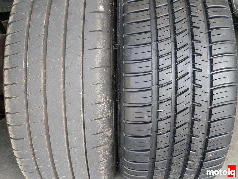 Michelin Pilot Super Sport versus Michelin Pilot Sport A/S 3