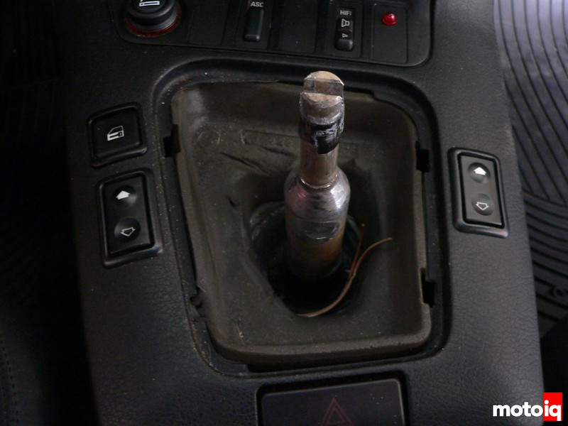 Project M3 old shifter