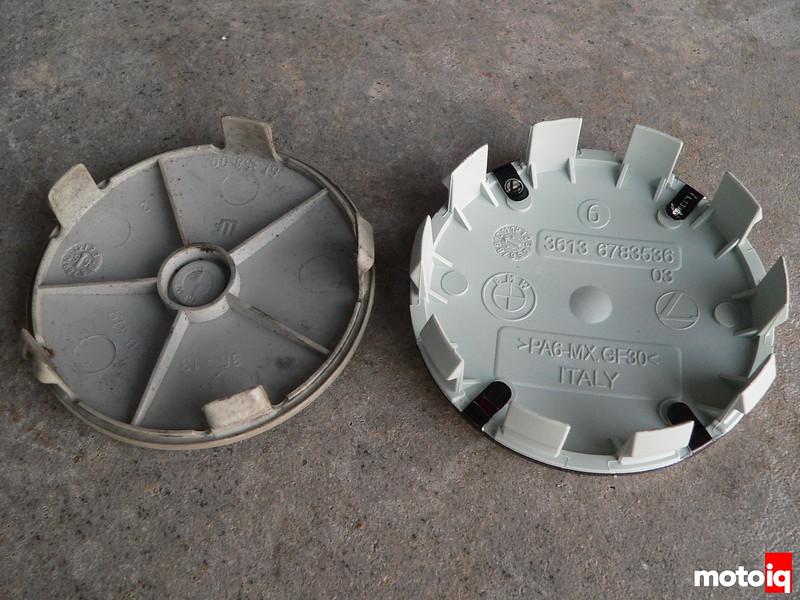 BMW wheel cap roundels from BavAuto
