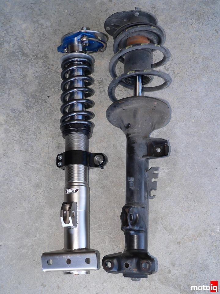 HVT 6100i versus BMW OEM strut