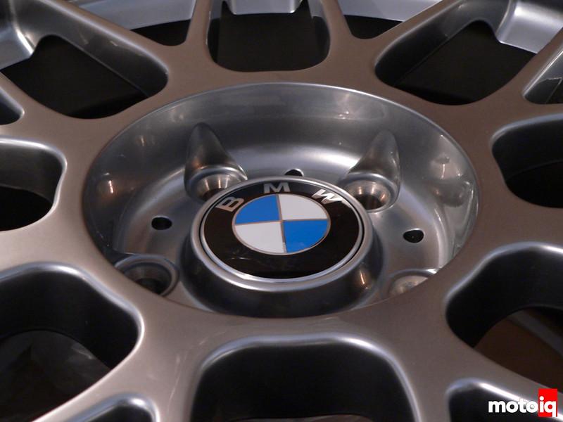 APEX Arc-8 with BMW Roundel wheel cap