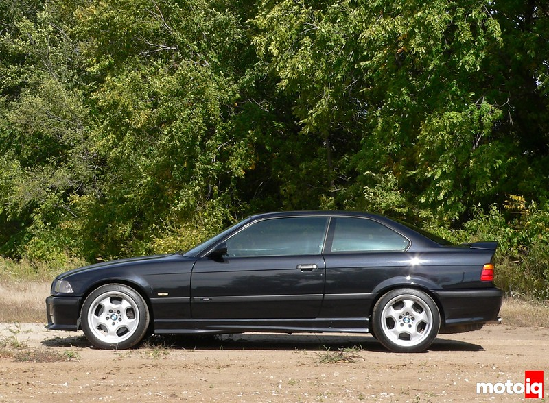 Project E36 M3 stock ride height