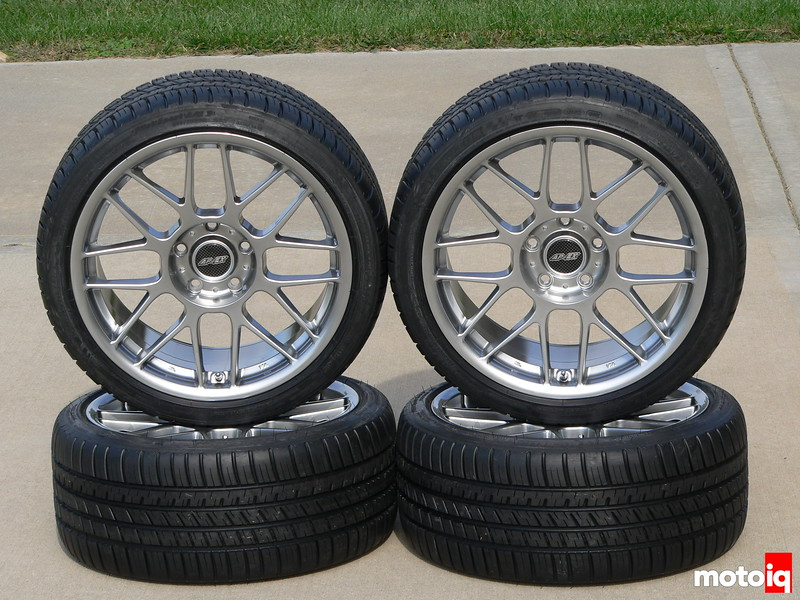 APEX Arc-8 Hyper Black 18x9 and Michelin Pilot Sport A/S 3
