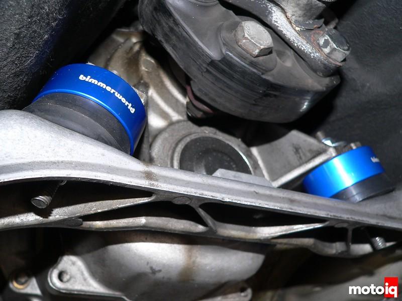 Project M3 BimmerWorld transmission mounts
