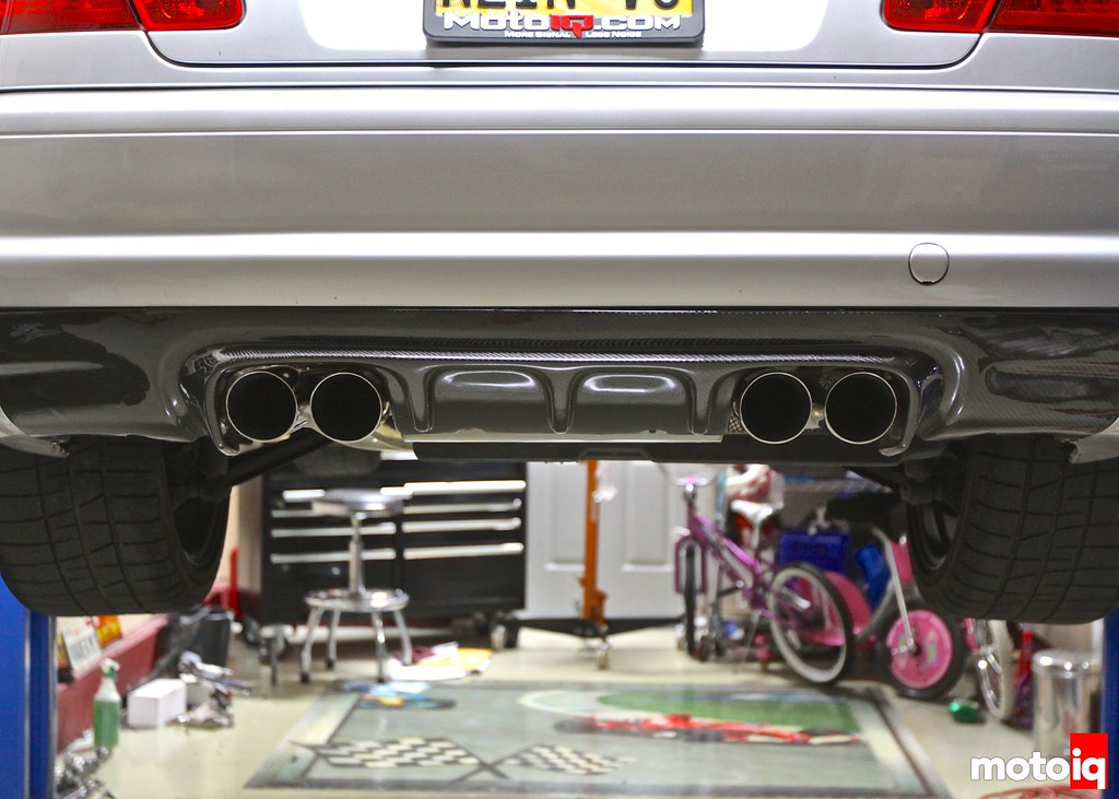 Project E46 M3: Part 17 - Preferred exhaust setup, MKC/AEM tuning