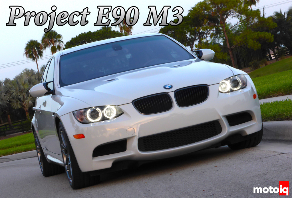 Project E90 M3 LED Angel Eye Cover