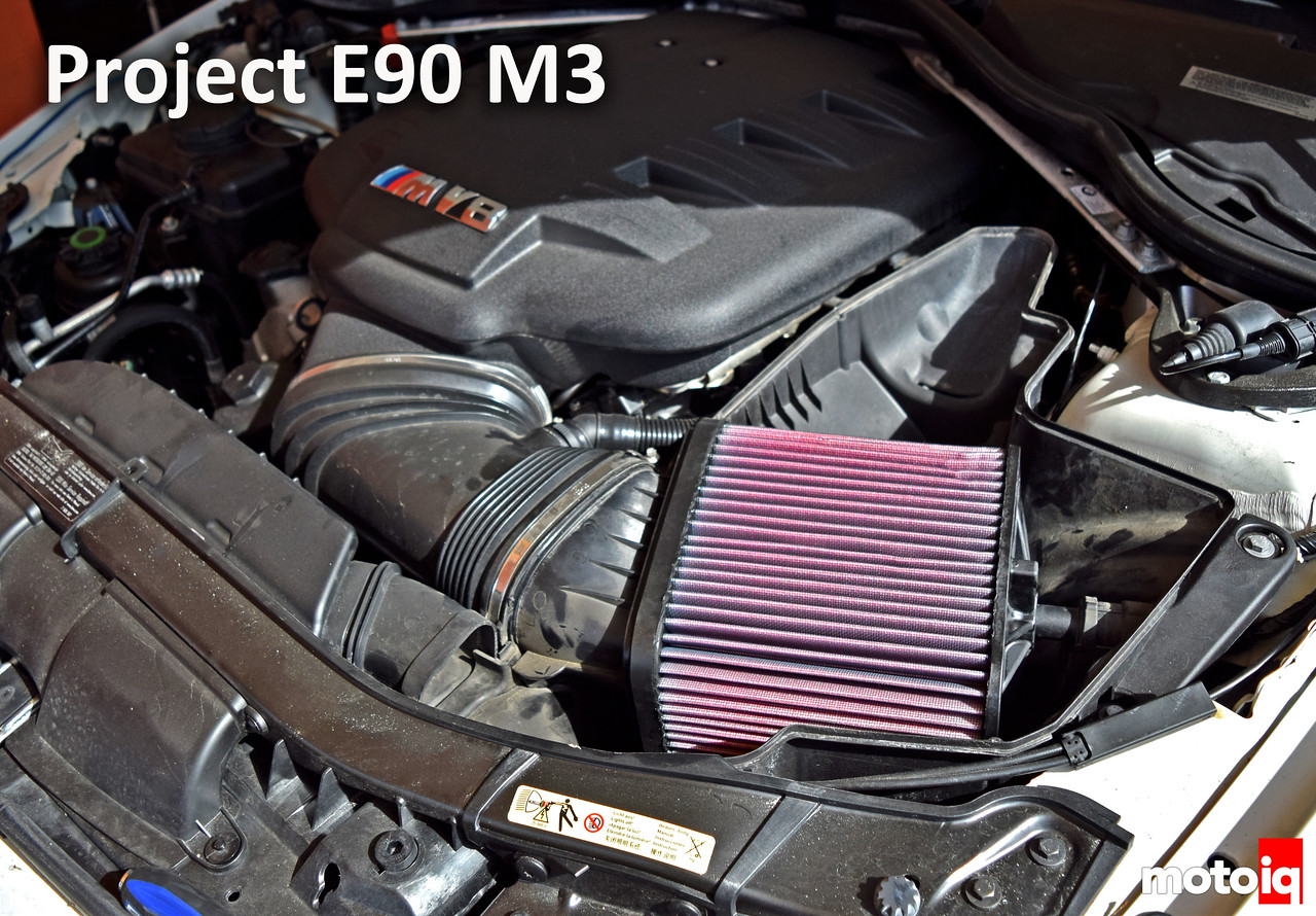 Project E90 M3: Part 5 - K&N Filter Cover