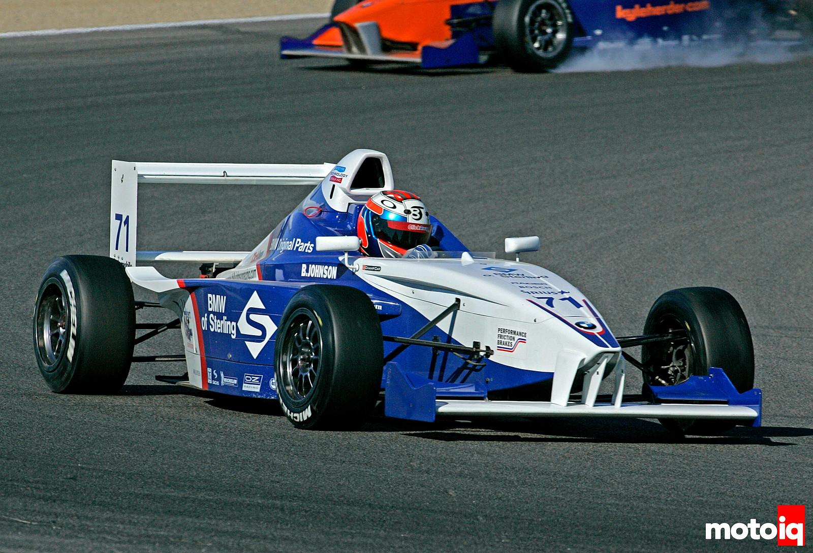 Billy Johnson Formula BMW USA
