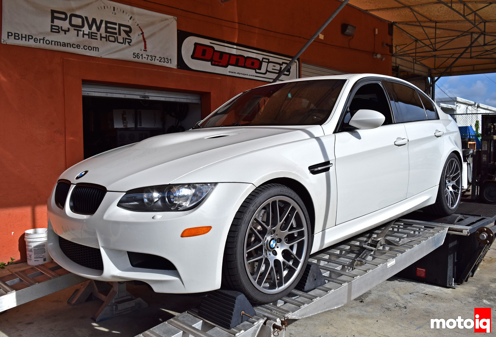 Project E90 M3 on the Dyno PBH