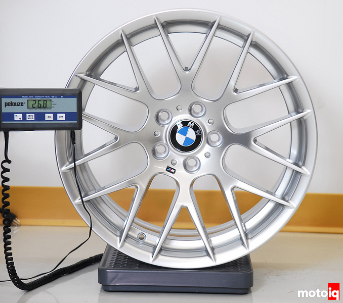 Competition Rear Wheel weight