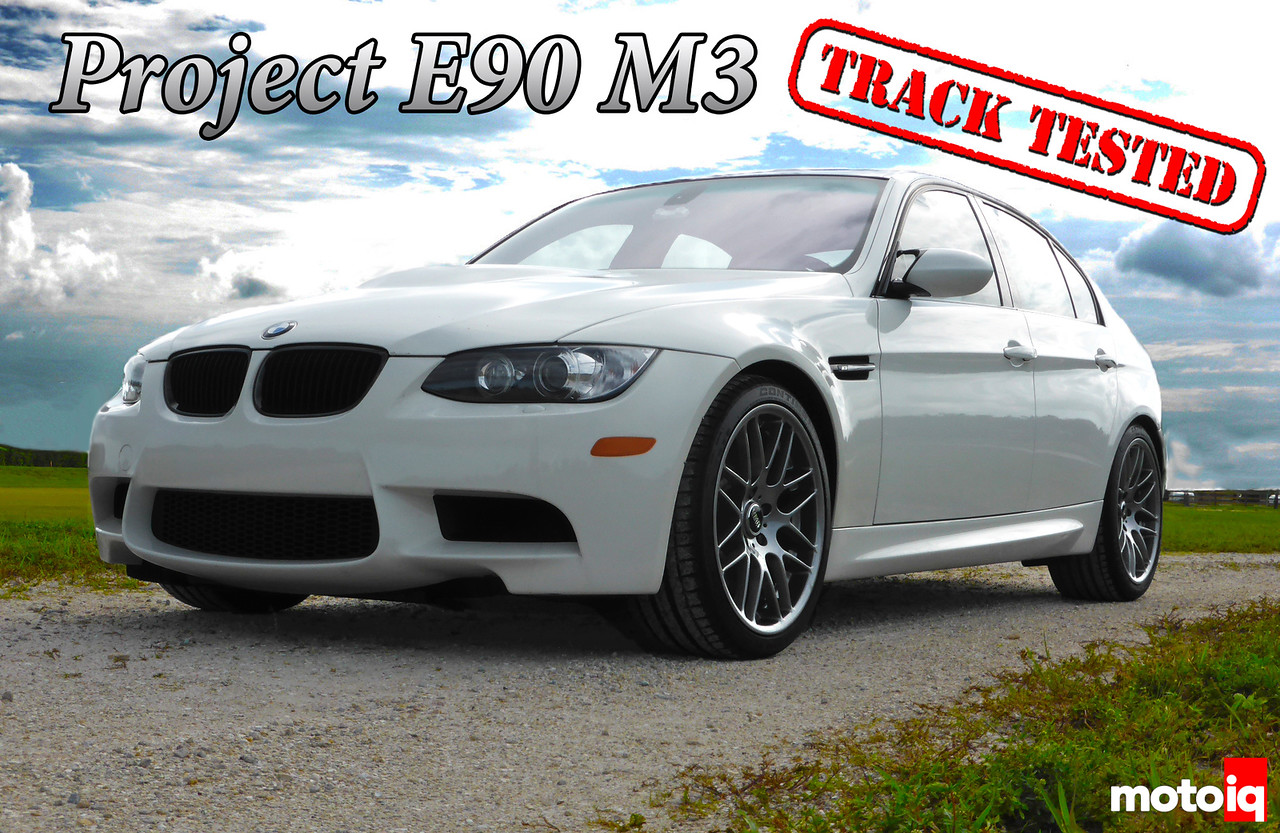 Project E90 M3 Part 4 Wheels and Tire Cover