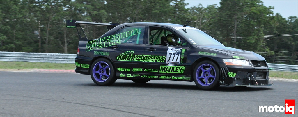 Professional Awesome Evo VII Jeff Westphal Global Time Attack