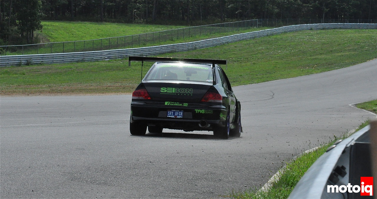 Professional Awesome Evo VII GTA NJMP 2012 SRy OFCR plate pic