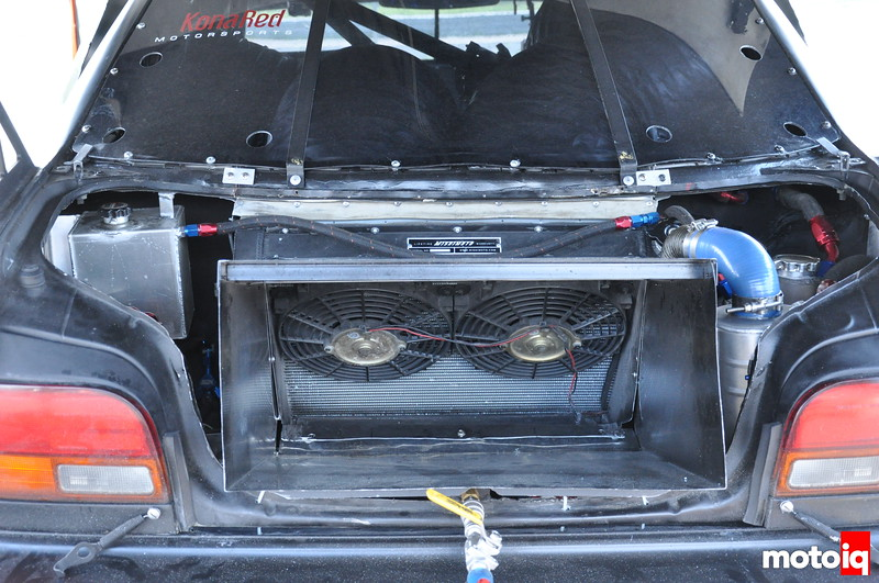 GST Subaru Impreza L Rear Mounted Radiator