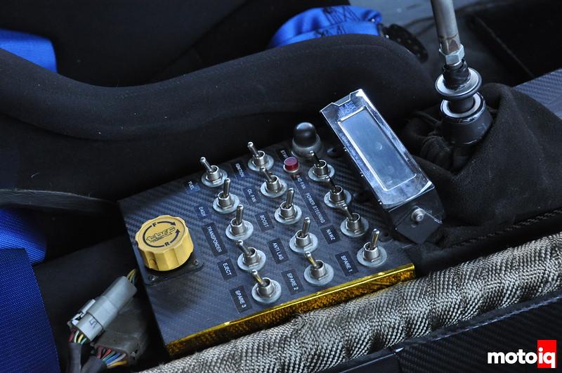 GST Subaru Impreza Time Attack Interior Switch Panel