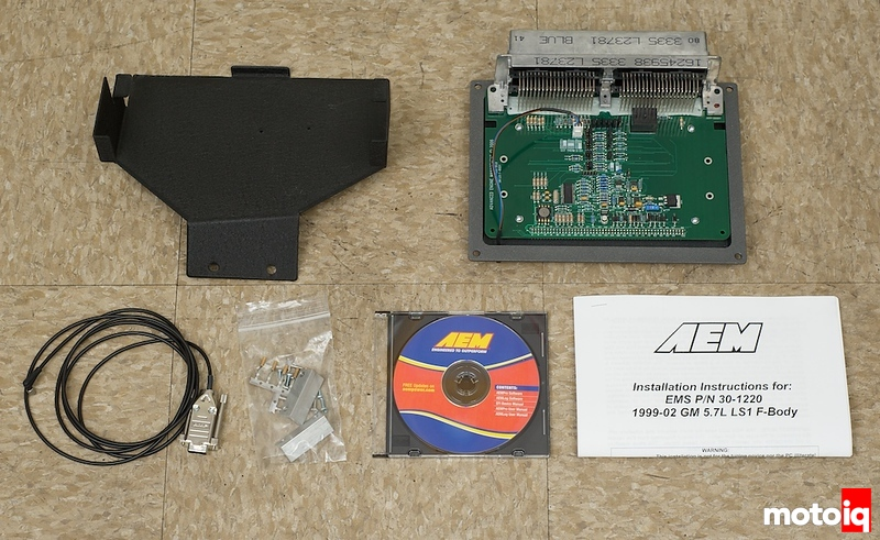 AEM's Plug and Play ECU for the Chevy LS1, a Swappers
