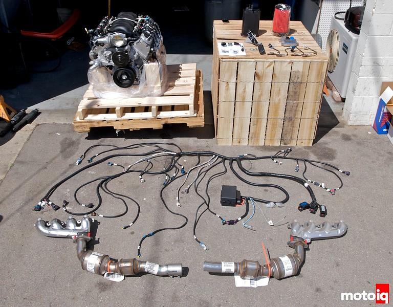 GM Performance LS3 E-ROD kit
