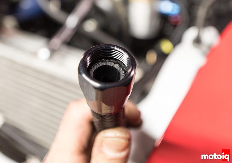 assembling earl's ano-tuff fittings on pro lite 350 hose