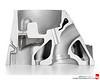 2008 6.2L V-8 (LS3) Cylinder Head Exhaust Port Cutaway