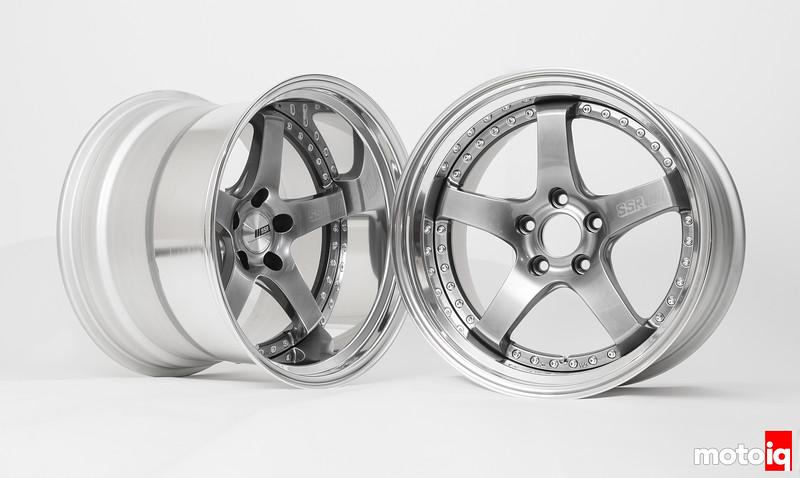 SSR Professor SP4 3-piece wheels 18x13 & 18x11