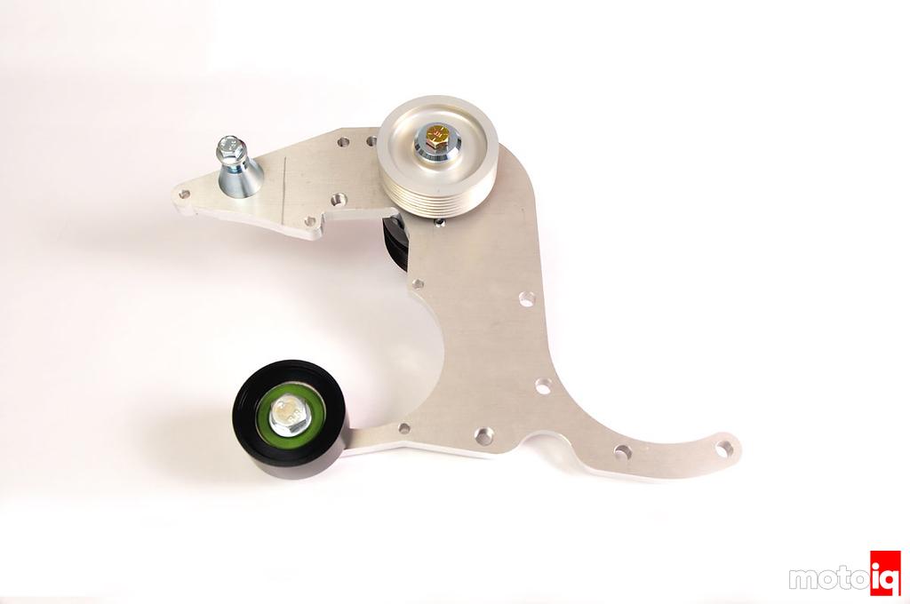 Stillen Supercharger jackshaft and boost pulley