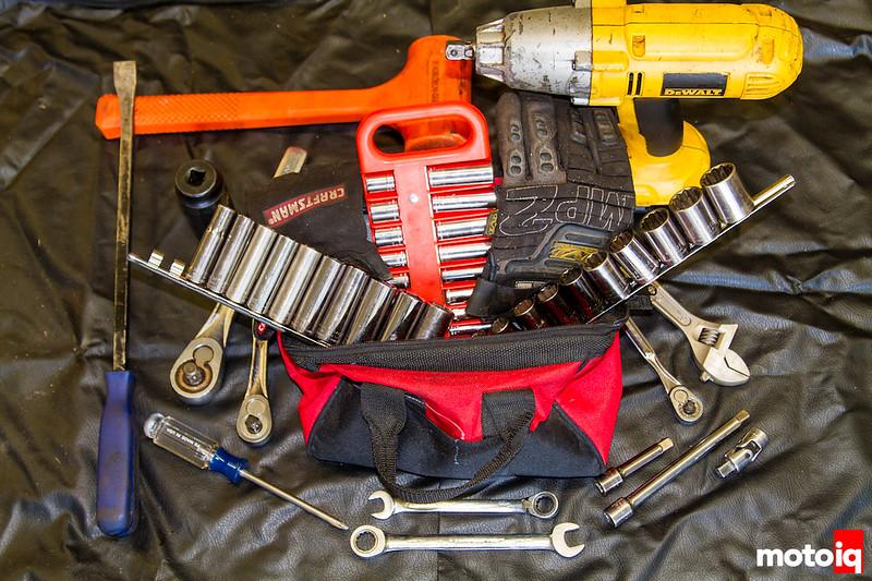Track tool kit