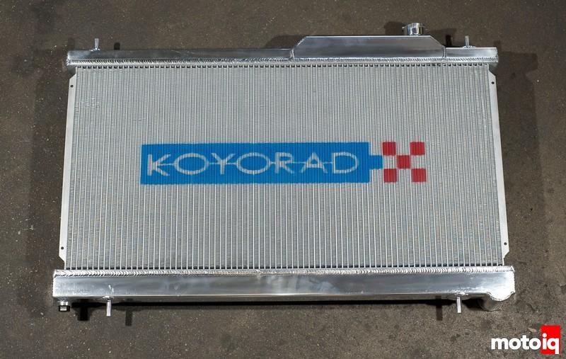 Koyo STI radiator