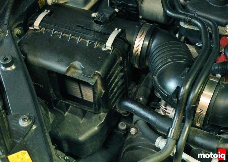 Subaru STi OEM intake removal