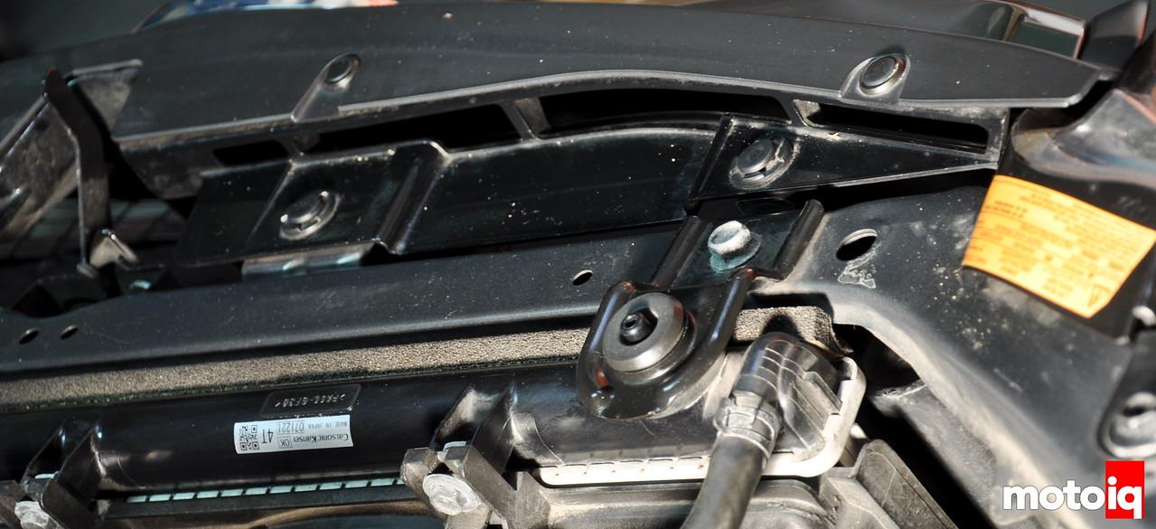 Subaru STi OEM intake grill