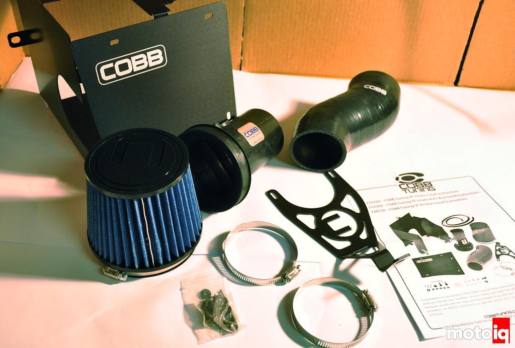 Cobb SF Intake Subaru STi Whats in the box