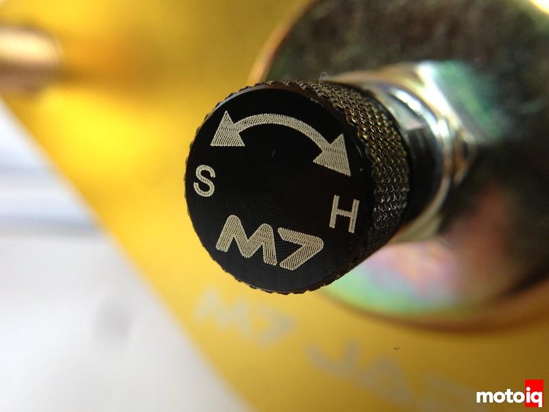 M7 coilovers Subaru STi Gen 3 GR