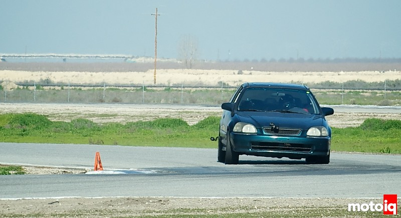 Project EJ Honda Civic at Buttonwillow